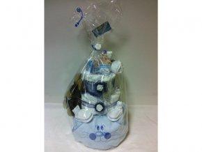 Plenkový dort III.patrový modrý č.2