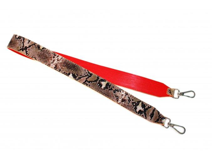 Ozdobné ramienko s hadím vzorom