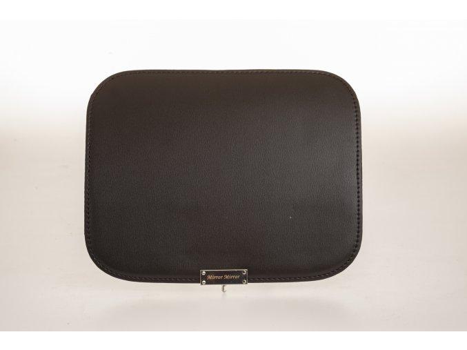 Vymeniteľný koženkový flap Čierny