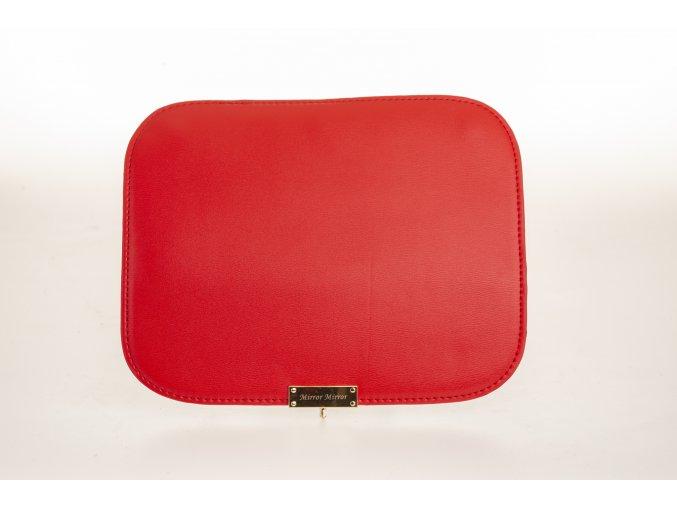 Vymeniteľný koženkový flap Červený