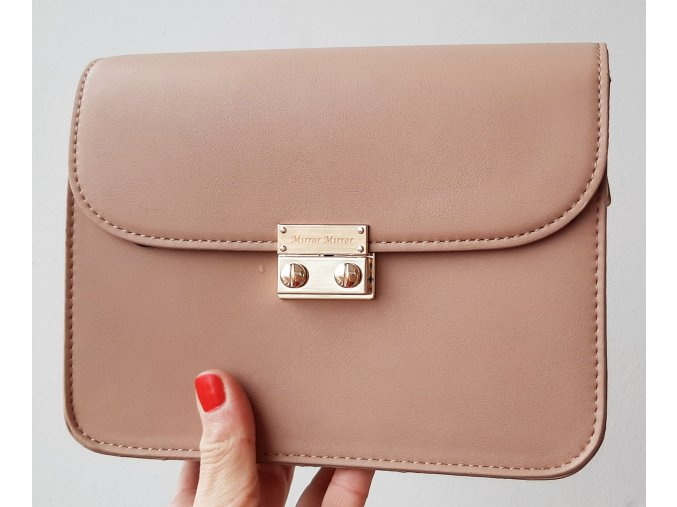 Bledohneda kabelka + 2 vymeniteľné flapy