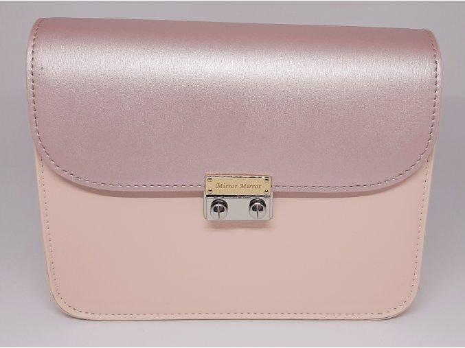 Vymeniteľný koženkový flap Rúžová perleť