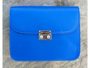 Modrá kabelka Silver+ 2 vymeniteľné flapy