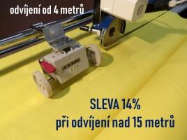 Sleva 14% při odvíjení nad 15 metrů