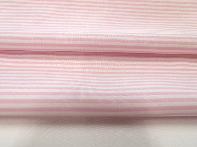 HALENA 110 (33329 Košilovina růžový proužek)-140cm