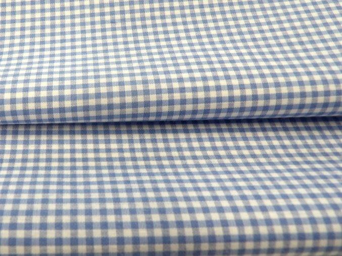 HALENA 100 (33431 Košilovina kostička modrá)-140cm / METRÁŽ NA MÍRU