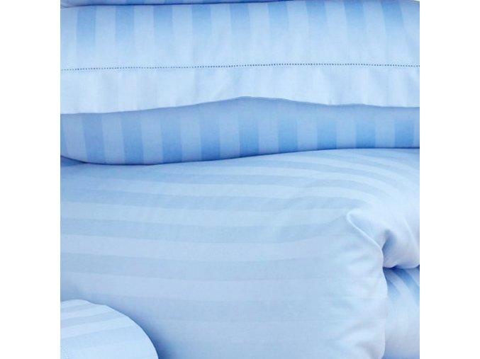 ATLAS-HOTEL 150/524335 modrá 22mm hotelový pruh-155cm / METRÁŽ NA MÍRU