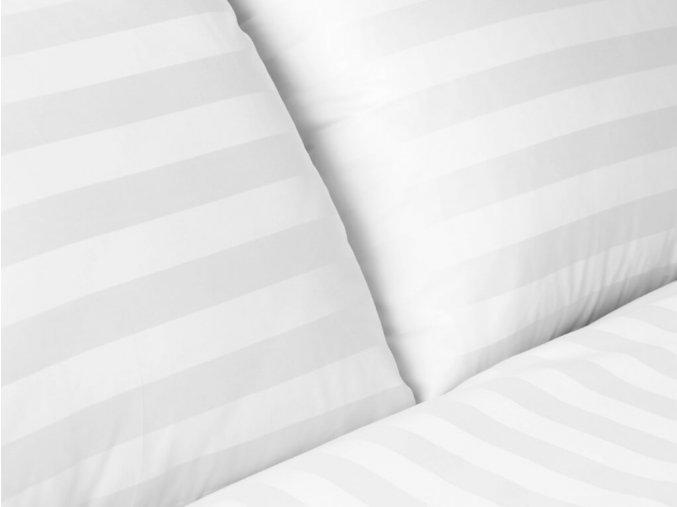 ATLAS-HOTEL 150/100 bílá 22mm hotelový pruh-148cm / METRÁŽ NA MÍRU
