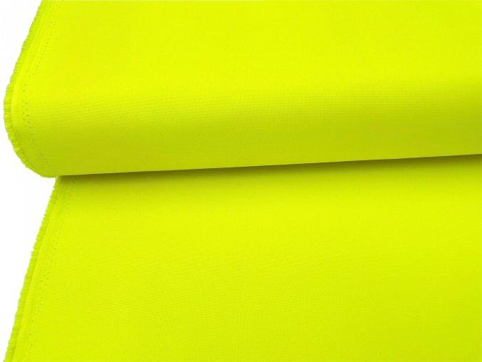 OXFORD 200/111LS reflexní žlutá 160cm / METRÁŽ NA MÍRU