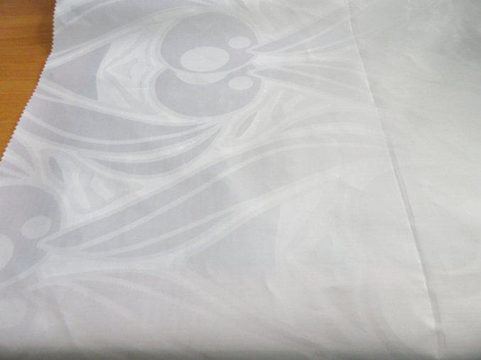HEBRON 170 (Brokát 97158 Fiesta bílý) / METRÁŽ NA MÍRU