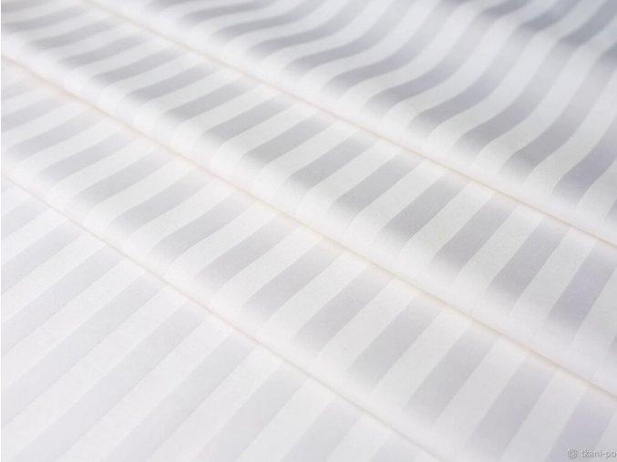 ATLAS-HOTEL 150/100 bílá 10mm hotelový pruh-145cm / METRÁŽ NA MÍRU