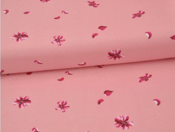 FLANEL 150 (22453-1 azalka růžová) 150cm
