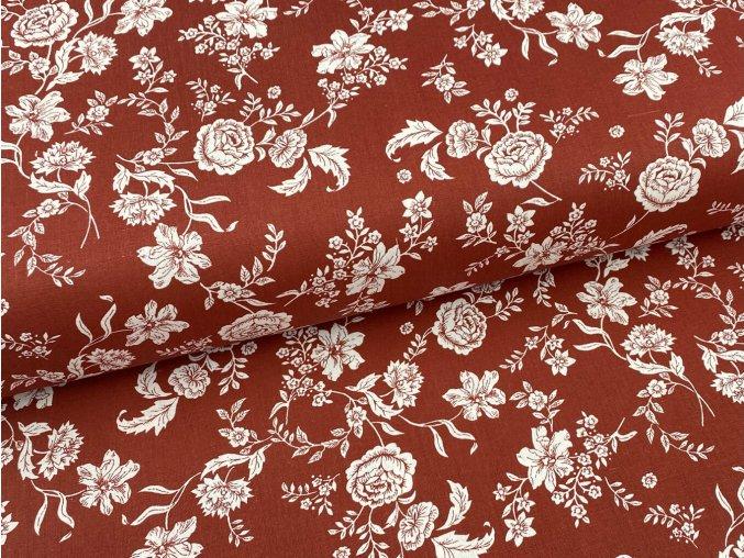 HANA 120 Chlupkal (213013-1-7 Růže hnědá opposite)-141cm