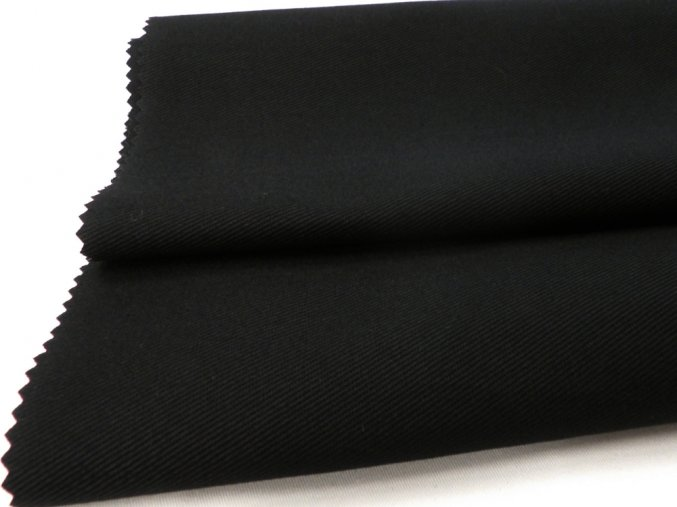 ESTER 315/26 černá / METRÁŽ NA MÍRU