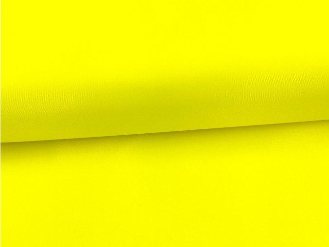 INTEX 250/33LS reflexní žlutá / METRÁŽ NA MÍRU