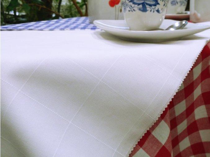 TABLE 200/100 BÍLÁ PANAMA kostka 55mm