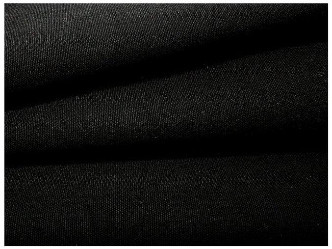 CANVAS 260/26 černá 150 cm