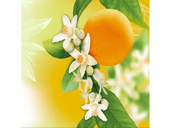 DOMESTIK 145/14912-1 pomeranč 3d tisk šíře 220cm