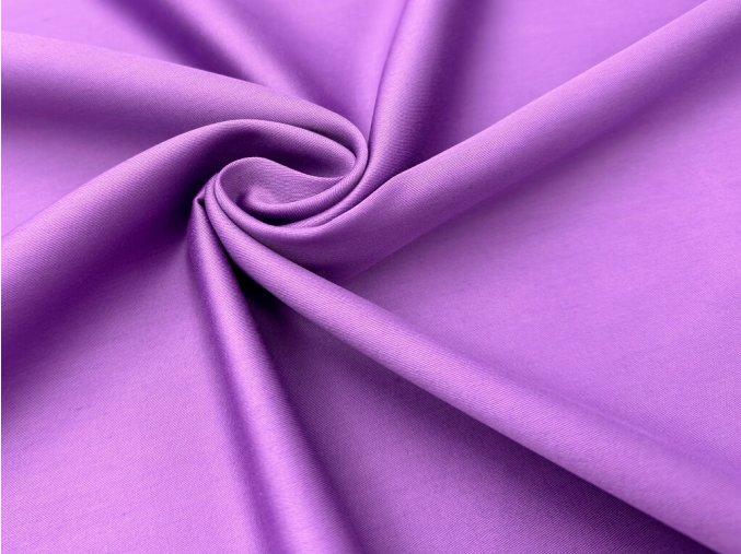 SATEEN 150 (510 fialová LAVANDE hladký)-285cm / METRÁŽ NA MÍRU