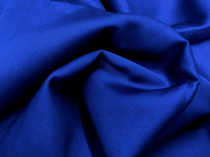 SATEEN 150 (608 modra OCEAN hladký)-285cm / METRÁŽ NA MÍRU