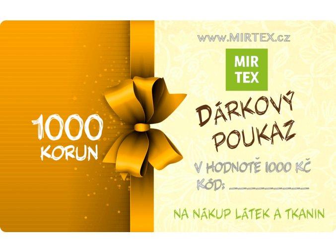 darkovy poukaz metraz1000a