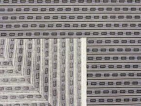 HEKTOR 115 (Trenkovina R206-3 šedo-šedý vzor)-160cm