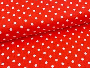 HABINA 120 (212769-4 Puntíky bílo-červené)