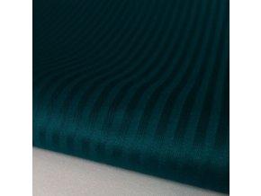 H-SATEEN 170/03MM (627524 zelená SOLITUDE pruhy 3mm)-145cm / METRÁŽ NA MÍRU
