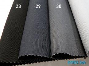ESTEX 240/29 středně šedá