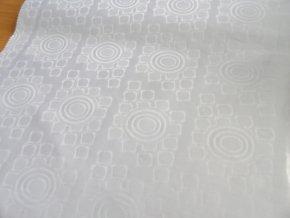 HEBRON 170 (Brokát 97049 Daulah bílý) / METRÁŽ NA MÍRU