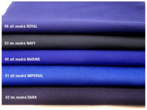 NORD 245/05 středně modrá ROYAL