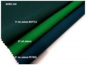 NORD 245/81 zelená PETROL
