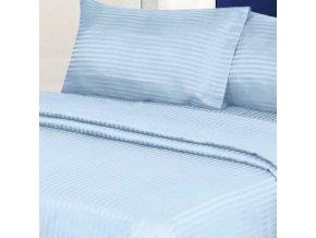 ATLAS GRADEL 170/610 modrá, 10mm hotelový pruh 145cm