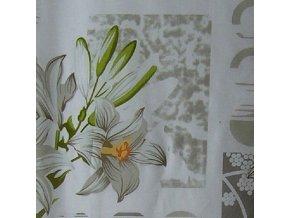 DOMESTIK 145/13702-1 velké květy šíře 220cm / METRÁŽ NA MÍRU