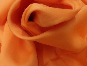 SATEEN 150 (355 oranžová MELONE hladký)-285cm / METRÁŽ NA MÍRU