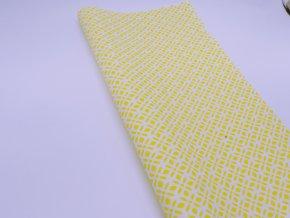 DOMESTIK 145/21363-8 vzor ORNAMENT žlutý