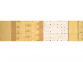 DOMESTIK 145/14453-1 geometrie čtverce-pruhy šíře 220cm / METRÁŽ NA MÍRU
