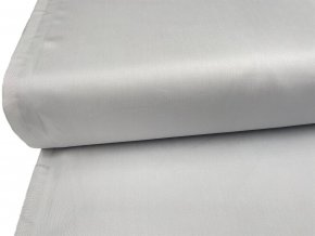 SATEEN 150 (904 světle šedá SILVER hladký)-285cm / VELKOOBCHOD