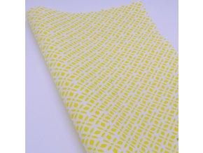 DOMESTIK 145/21363-8 vzor ORNAMENT žlutý / VELKOOBCHOD