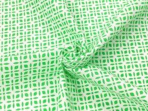 DOMESTIK 145/21363-4 vzor ORNAMENT zelený / VELKOOBCHOD
