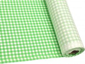 DOMESTIK 145/21375-3 KÁRO zelené kostky 7mm / VELKOOBCHOD