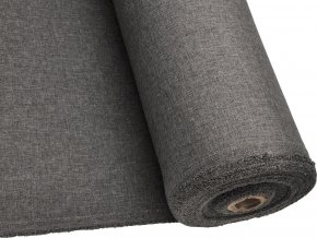 OXFORD LINEN 200 (L92 šedá STEEL)-160cm / VELKOOBCHOD