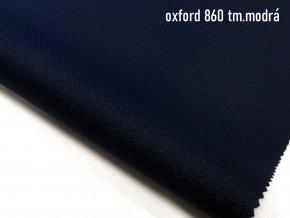 OXFORD 200/860 tmavě modrá 160cm / VELKOOBCHOD