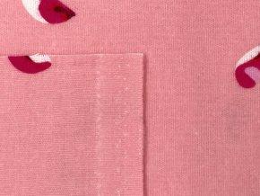 FLANEL 150 (22453-1 azalka růžová) 150cm / VELKOOBCHOD