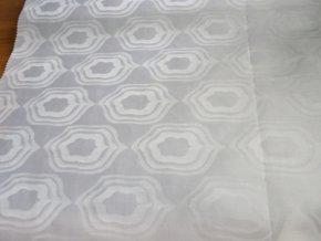 HEBRON 170 (Brokát 97079 Everest bílý) / VELKOOBCHOD