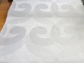 HEBRON 170 (Brokát 97154 Fiesta bílý) / VELKOOBCHOD