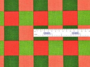 HABINA 145 (92384-45 Velké kostky barevné 4cm)-142cm / VELKOOBCHOD