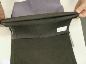 ELIS 220 (8022 šedá elastická džínovina)-140 cm / METRÁŽ NA MÍRU