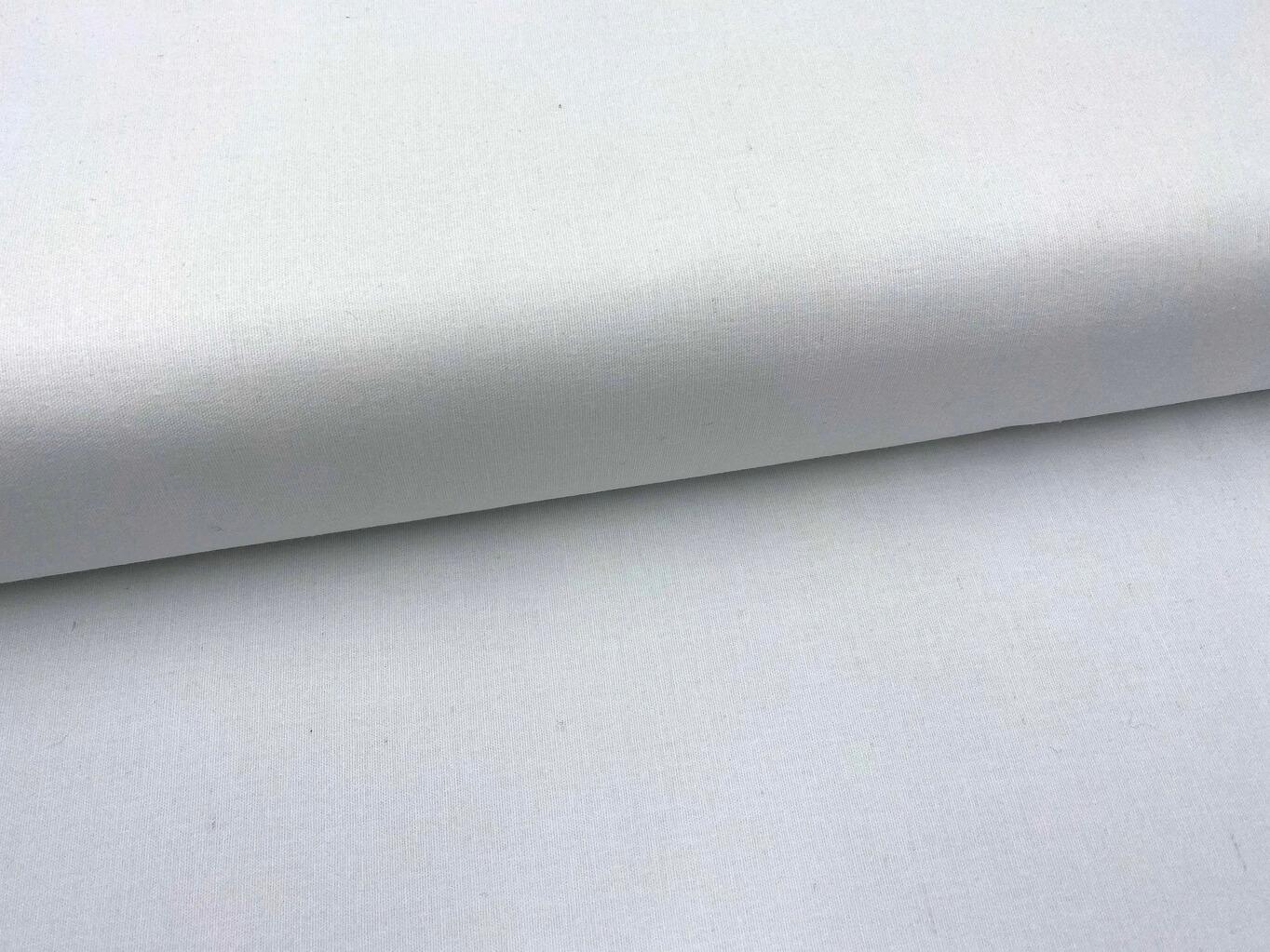 Mirtex FLANEL 150 (100-bílá) 150cm zbytková metráž
