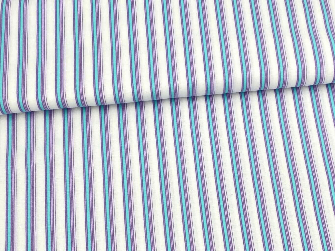 Mirtex FLANEL 150 (11581-1 pruhy pyžamo) 150cm / VELKOOBCHOD Ceník: VELKOOBCHOD: po celých rolích, b